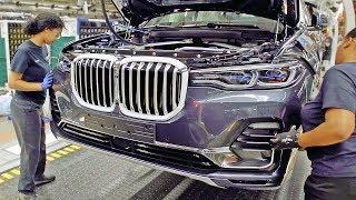 Как собирают BMW X7 на самом большом заводе