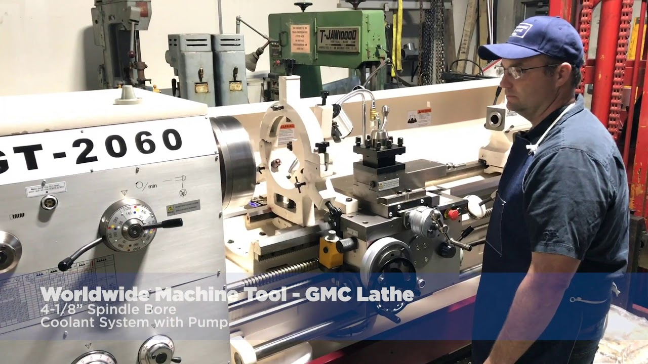 Industrial Metal Lathe Machines Lathe Machines For Sale >> Gmc Lathe For Sale Model Gt 2060 At Worldwide Machine Tool