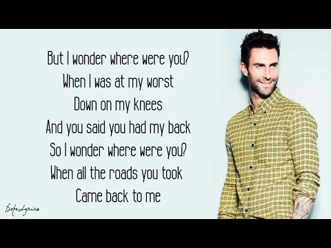 Maps  Maroon 5 Lyrics 🎵