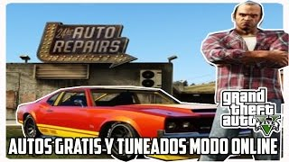 GTA V Autos gratis y tuneados modo online (PS4, PS3, X BOX ONE, X BOX 360 Y PC)