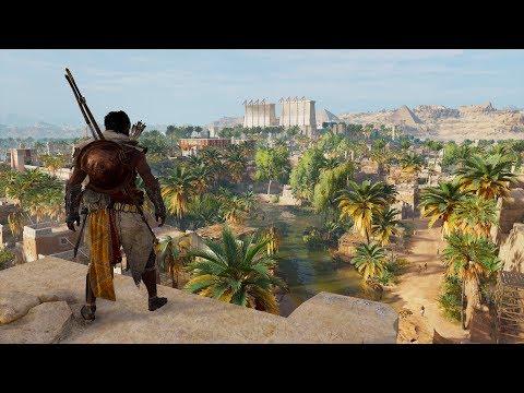 PS4 Assassin's Creed Origins Memphis Free Run #1