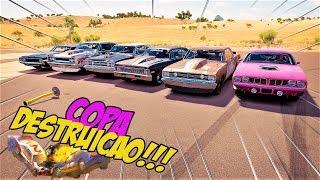 TEVE TRETA!!! NO FINAL!! - COPA DESTRUIÇÃO!! - FORZA HORIZON 3