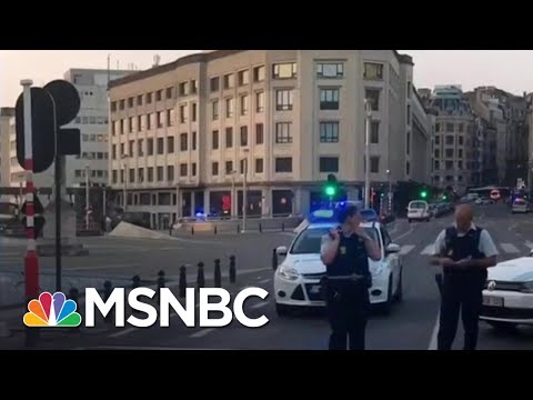 Suspect Shot After Explosion At Brussels Train Station | MSNBC