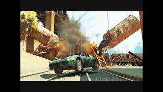 GTA 4 - Трюки, Аварии и Приколы! [#21]