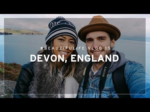 #BEAUTIFULIFE VLOG 15 - EXPLORING DEVON, ENGLAND