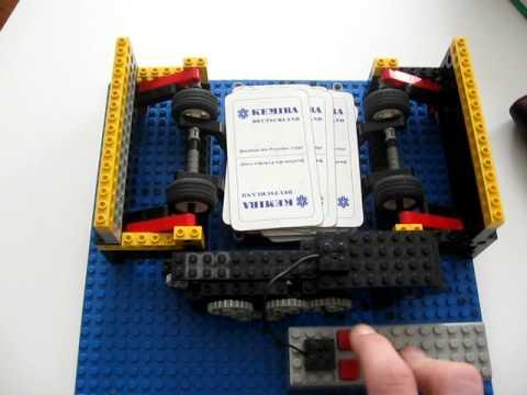 Kartenmischmaschine Legotechnik Ii Youtube