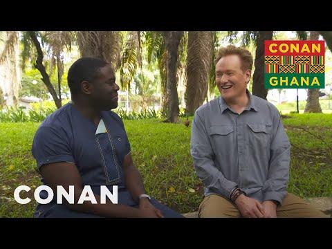 Conan & Sam Richardson Make Plans To Return To Ghana - CONAN on TBS