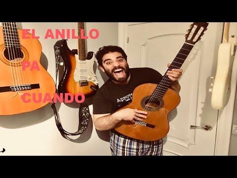 El Anillo Pa Cuando - COVER GUITARRA - Jennifer Lopez