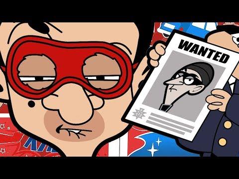 Super-Bean | Funny Episodes | Mr Bean Cartoon World