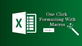 Learn macro programming in excel Urdu