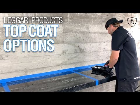Top Coat Options | Glaze Coat, Urethane Gloss & Urethane Matte