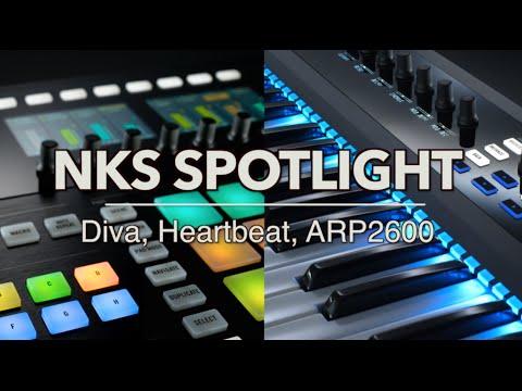 Native Instruments NKS Spotlight: Diva, Heartbeat, ARP2600