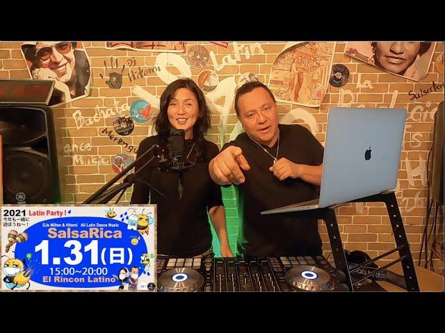 2021.1 Cuarto Latino 〜ラテンDJの部屋〜 / DJs Milton&Hitomi