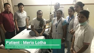 Mr. Lotha Thanks Kailash Hospital Staff & Services for Treatment of His Son, Mr. Merio