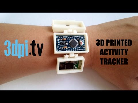 3D Print Your Own Wearable Activity Tracker