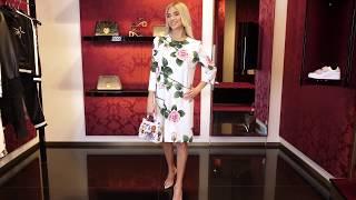 Новая коллекция Dolce Gabbana Элегантный женский лук для круиза или нестандартного дресс кода