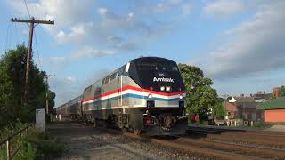 Amtrak 145 Leads the Broadway Limited 70th Anniversary Special