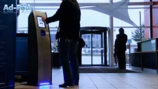 Interactive Kiosks for bluetooth and wifi marketing, NFC and mobile marketing