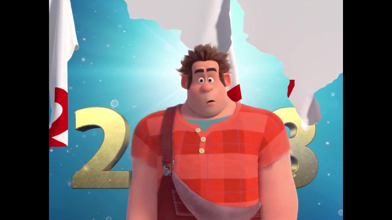 New Year's Greeting - Ralph Breaks the Internet: Wreck-It Ralph 2 - New Year's Greeting - Ralph Breaks the Internet: Wreck-It Ralph 2