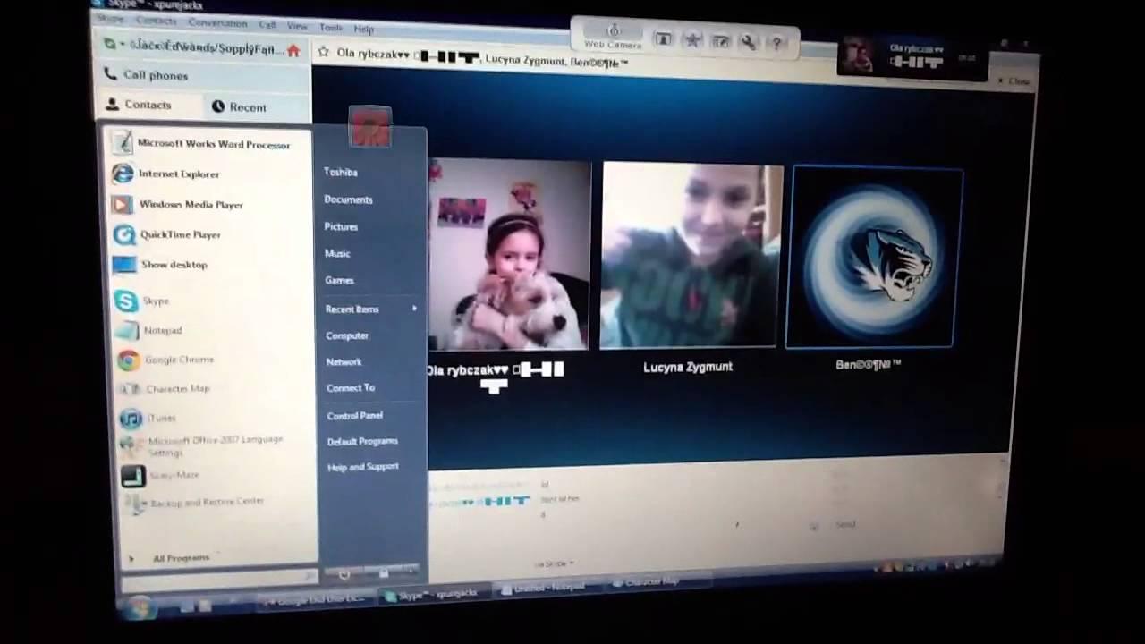 Девчонки из скайпа видео
