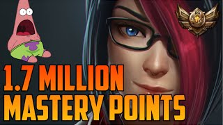 BRONZE 4 FIORA 1,700,000 MASTERY POINTS- Spectate Highest Mastery Points on Fiora