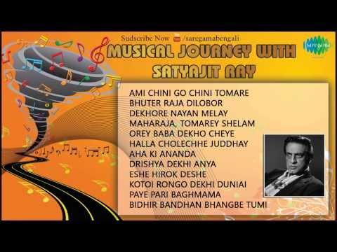 Musical Journey With Satyajit Ray   Dekhore Nayan Melay   Bengali Songs Audio Jukebox   Satyajit Ray