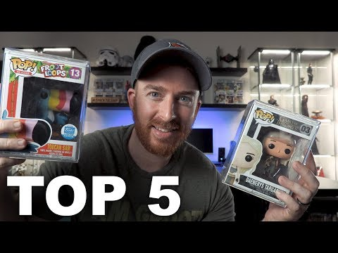 Top 5 Most Valuable Funko Pops