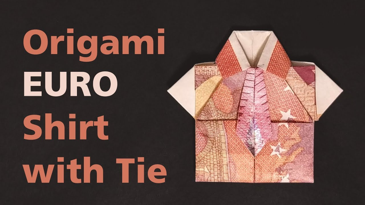 Origami Shirt and Tie Instructions Awesome origami Dollar Bill ... | 720x1280