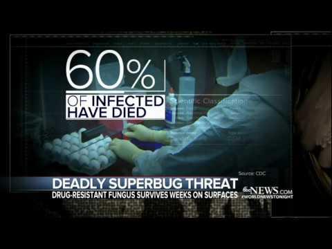 Deadly Superbug Threat: Robert Amler, M.D., Speaks to ABC World News Tonight with David Muir