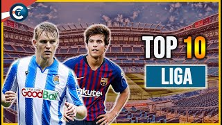 🇪🇸 TOP 10 des révélations de la LIGA 2019/2020 avec Odegaard, Riqui Puig...
