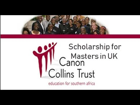 How to apply for Canon Collins Masters Scholarship for Southern African Students