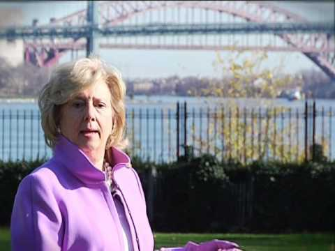 Linda Fairstein tours Gracie Mansion for HELL GATE