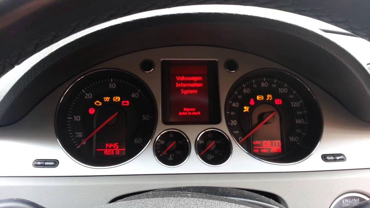 VW Passat 1 9TDI B6 Starting Problem, Fuel Injector Seals Leaking
