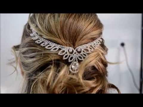 Peinado novia Semi Recogido