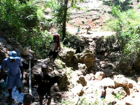 At The Spring, Grand Bois Haiti