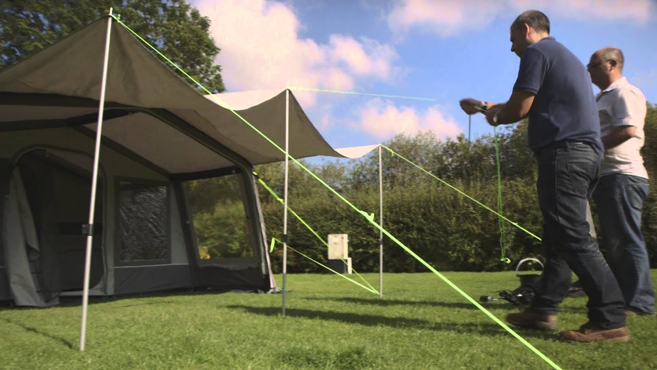 Sunncamp Holiday Air 300 Trailer Tent Test - YouTube