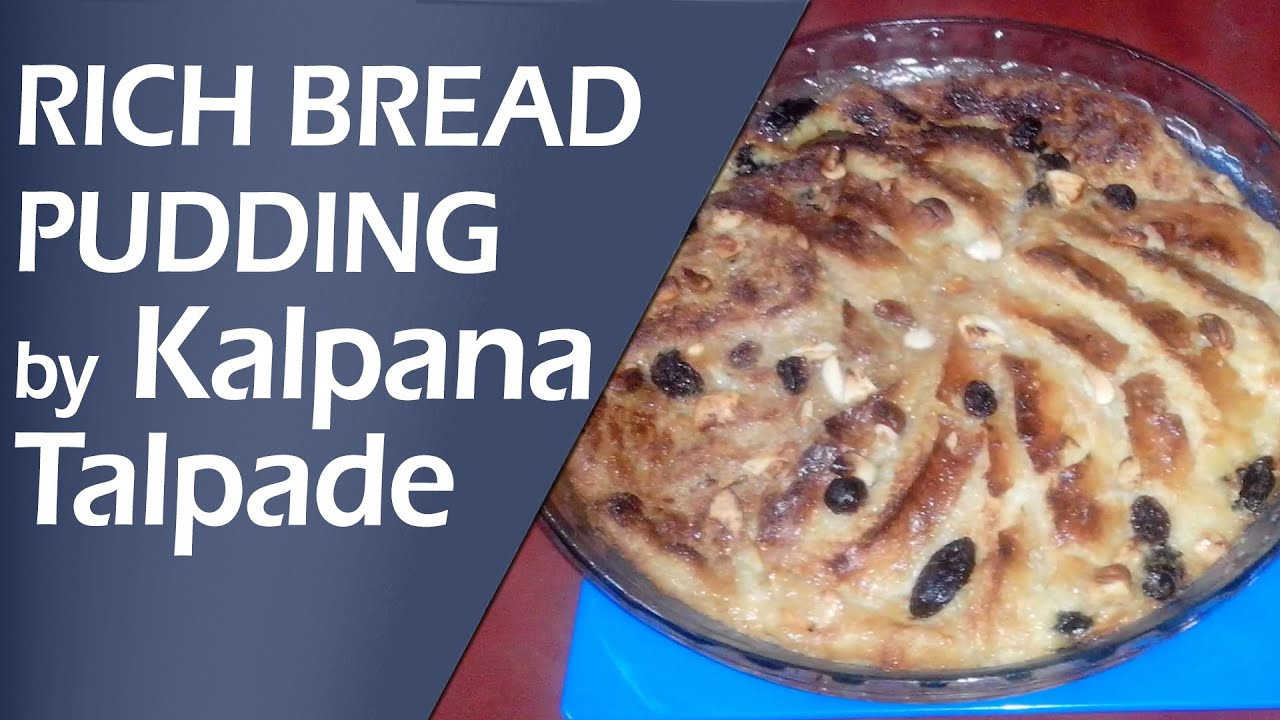 Rich Bread Pudding Healthy Baked Recipe