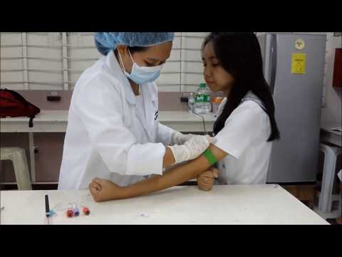 Venipuncture Procedure using Vacutainer Method