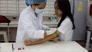 Venipuncture Procedure using Vacutainer Method