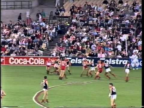 Round 3, 1997, Sydney v Melbourne first four minutes