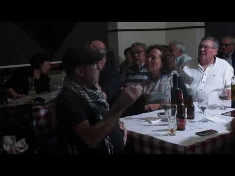 Larinho, Maio 2018. Jantar e Noite de Fados, com Fernanda.
