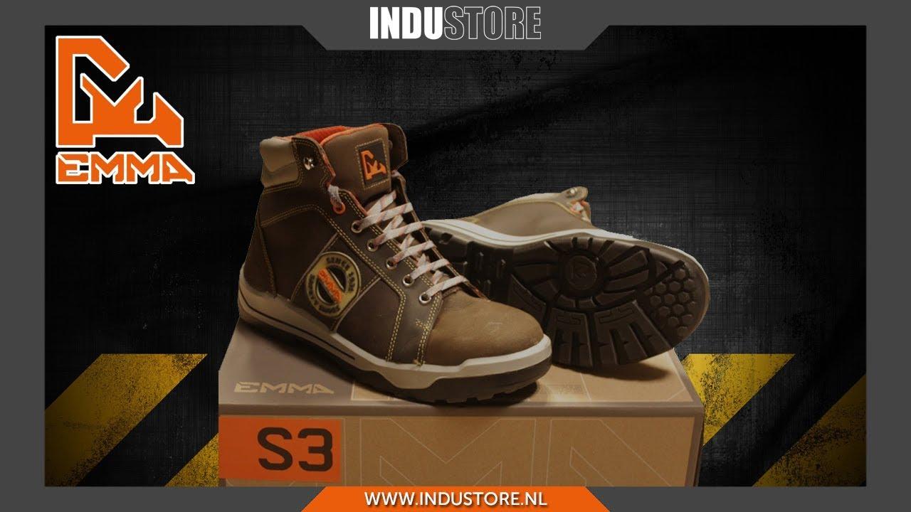 Werkschoenen Groothandel.Industore Werkschoenen S3 Emma Ruffneck Donovan Sneaker