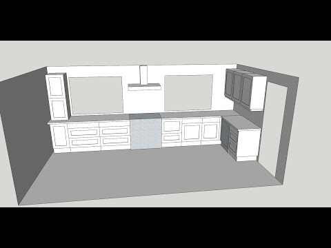 how-to-design-a-uk-kitchen-in-sketchup-make-part-7-hd