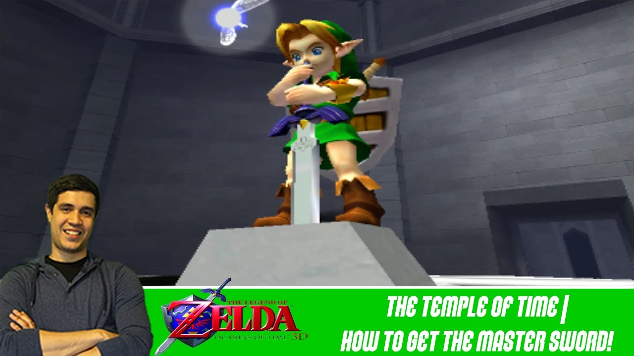 how to get the master sword temple of time the legend