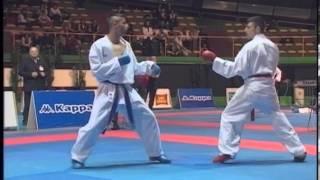 Campionato Italiano Assoluto di Karate - Kumite 2013 Finale 60 kg Vastola - Maresca