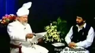 MTA Hazrat Mirza Tahir Ahmad.