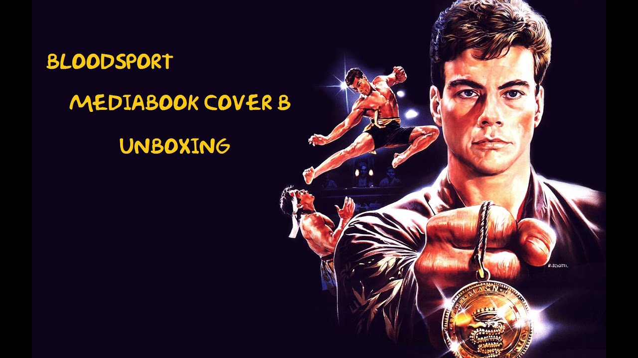 Bloodsport (Jean Claude Van Damme) english cover: