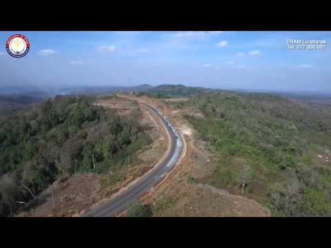 DJI Inspire 1: Cambodia | National Road 76