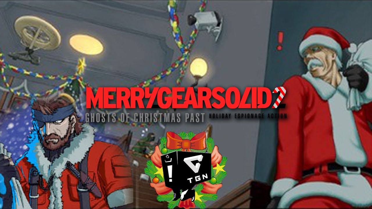 Metal Gear Solid 2: Ghost of Christmas Past (2/3) - YouTube