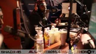 Flatbush Zombies Freestyle on Showoff Radio
